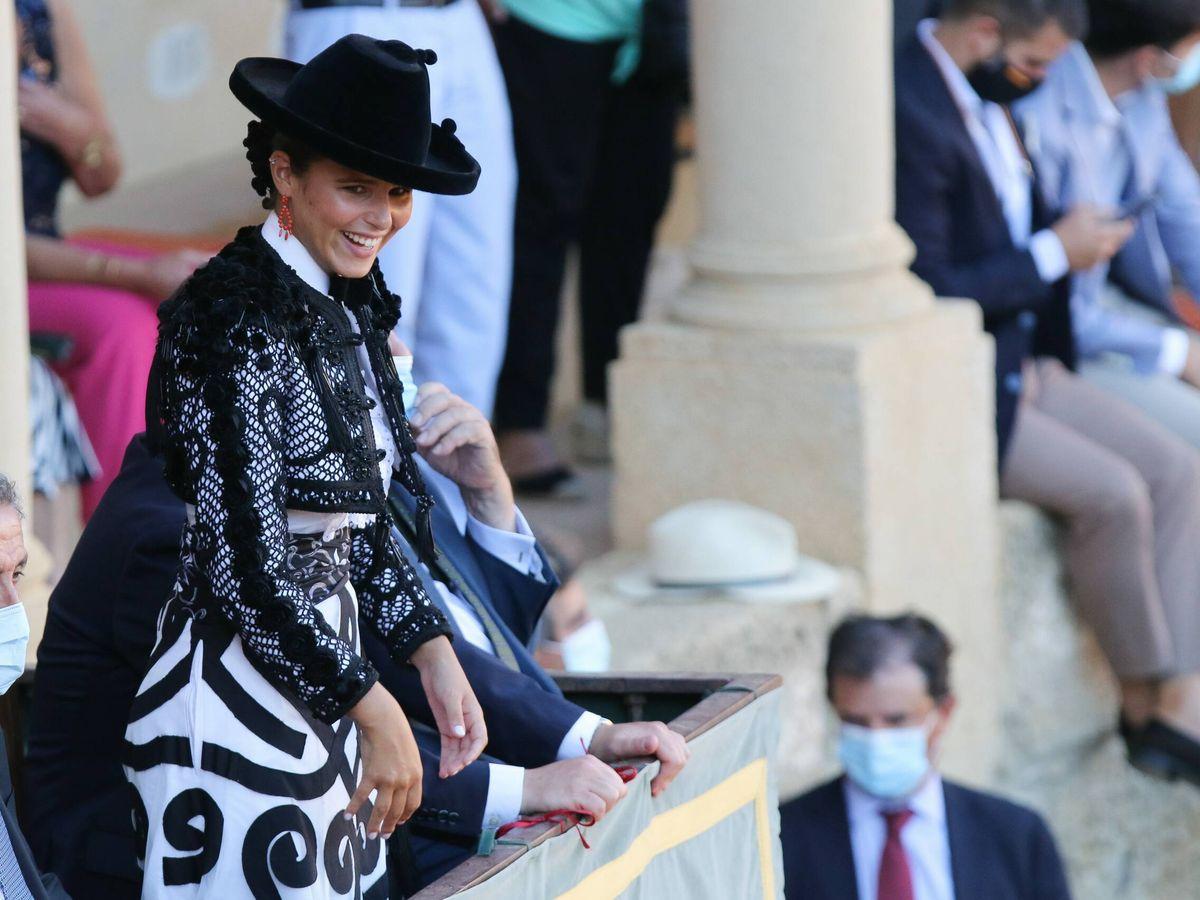 Foto: Cayetana Rivera, en Ronda, en la Goyesca. (Cordon Press)
