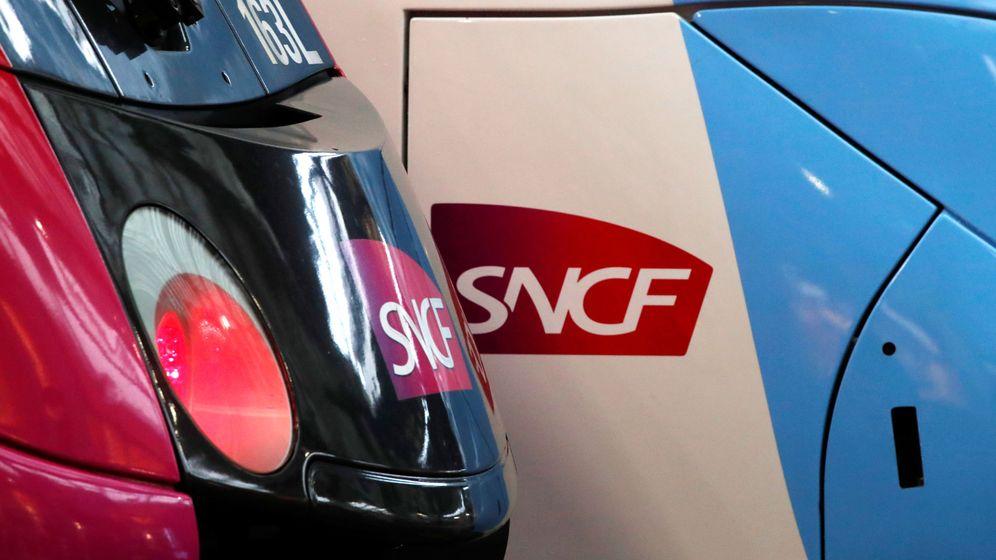 Foto: Logo de SNCF (Reuters)