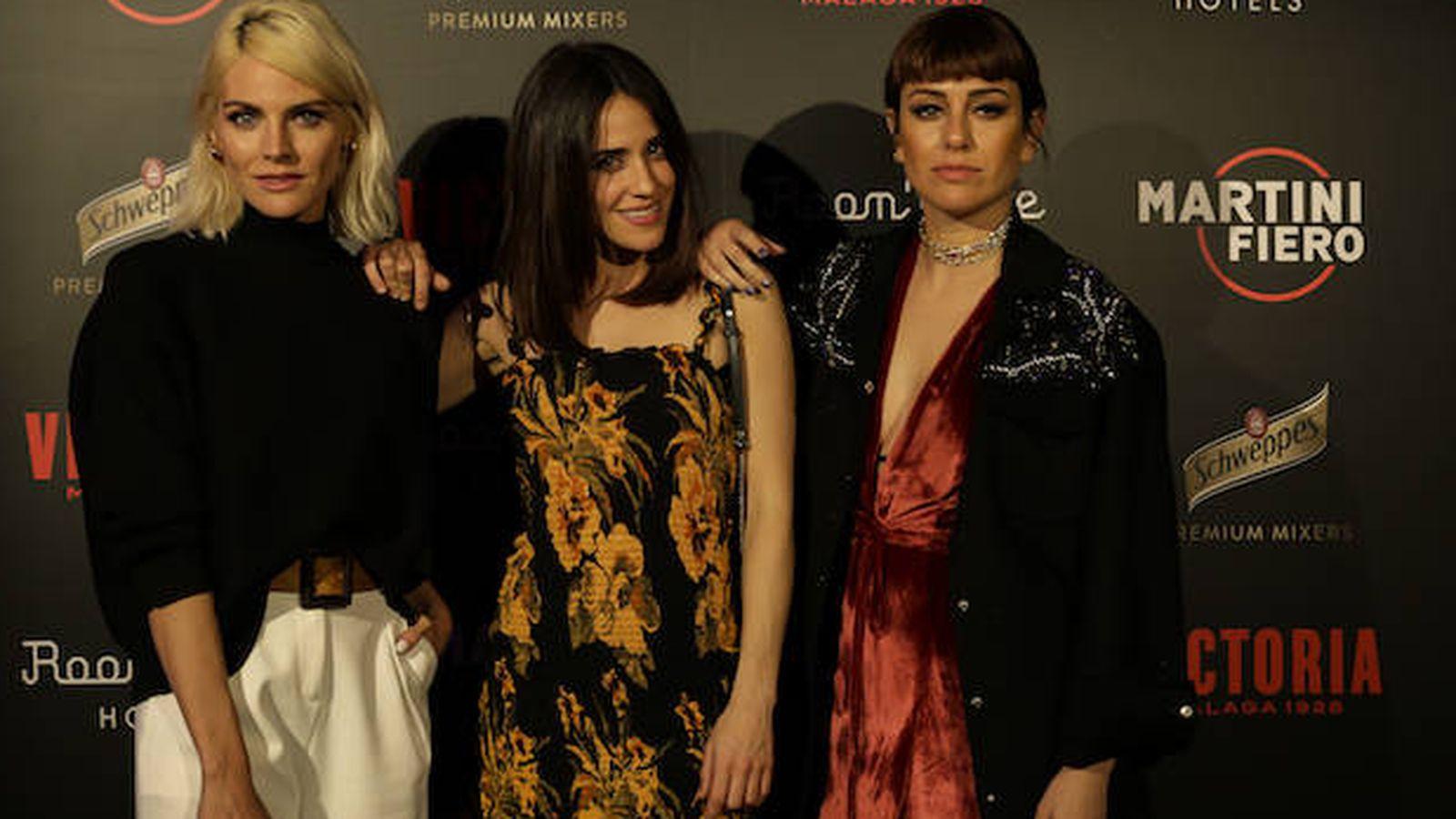Foto:  Amaia, Macarena y Blanca. (Cortesía)