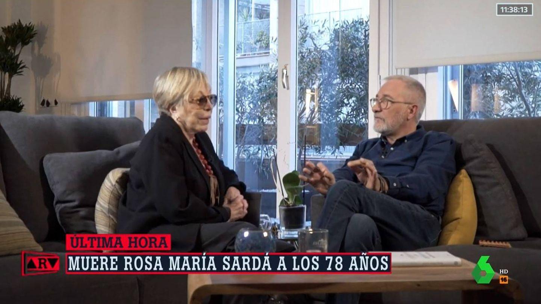 Rosa Maria y su hermano Xavier Sardà. (Atresmedia)