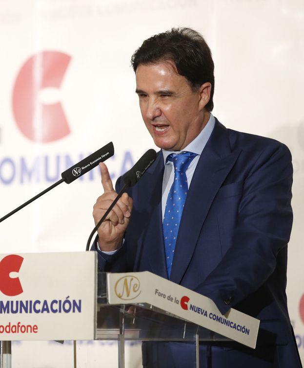 Foto: José Ramón de la Morena, en un desayuno informativo del Foro de la Nueva Comunicación. (EFE)
