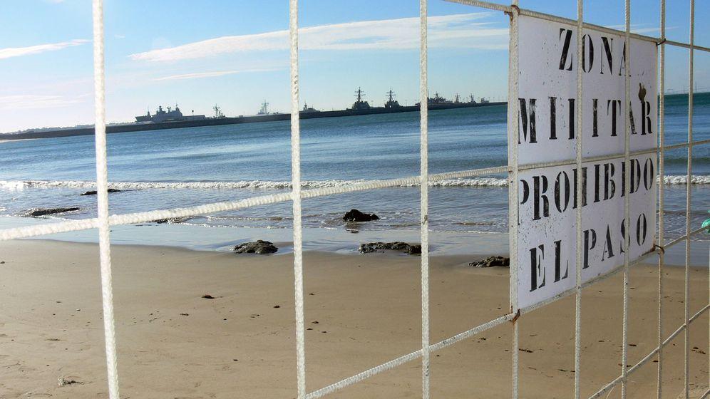Foto: Vista de la zona militar. (Juan Bezos)