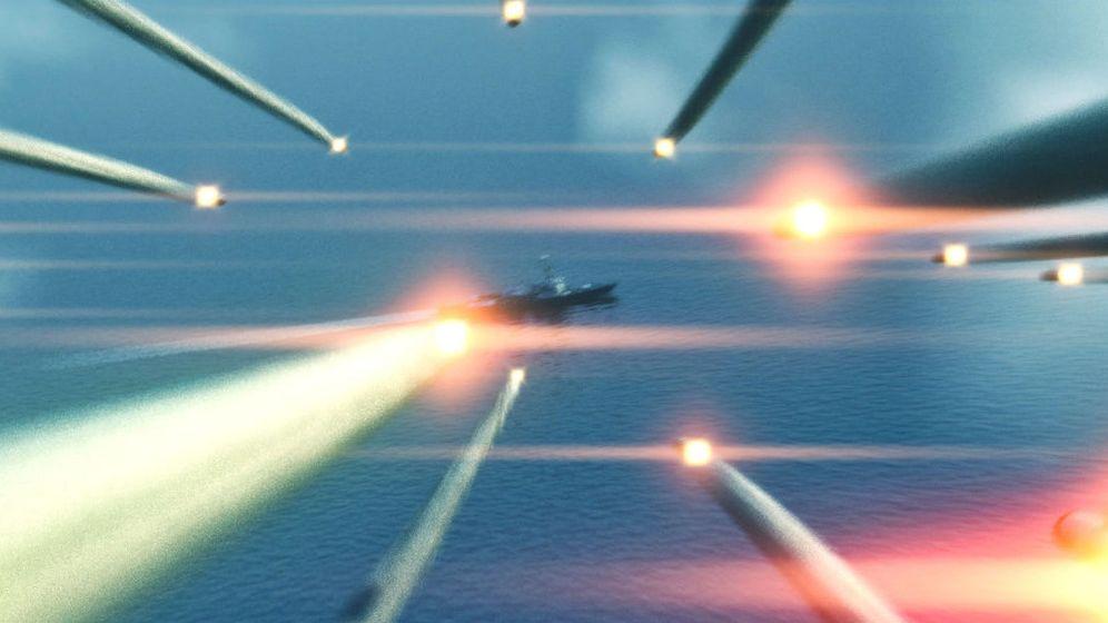 Foto: Imagen de la película La Segunda Batalla del Golfo Pérsico (Reuters)