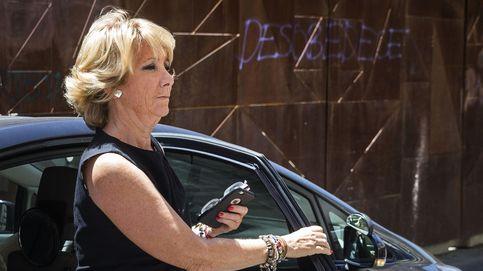 La Justicia archiva el incidente de Esperanza Aguirre en la Gran Vía por el nuevo Código Penal