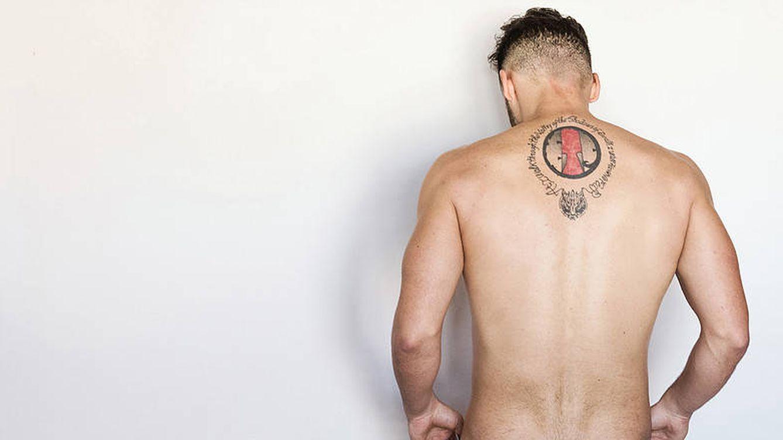Foto: El actor porno Sylvan Gavroche. Foto: Blackmind Studios.