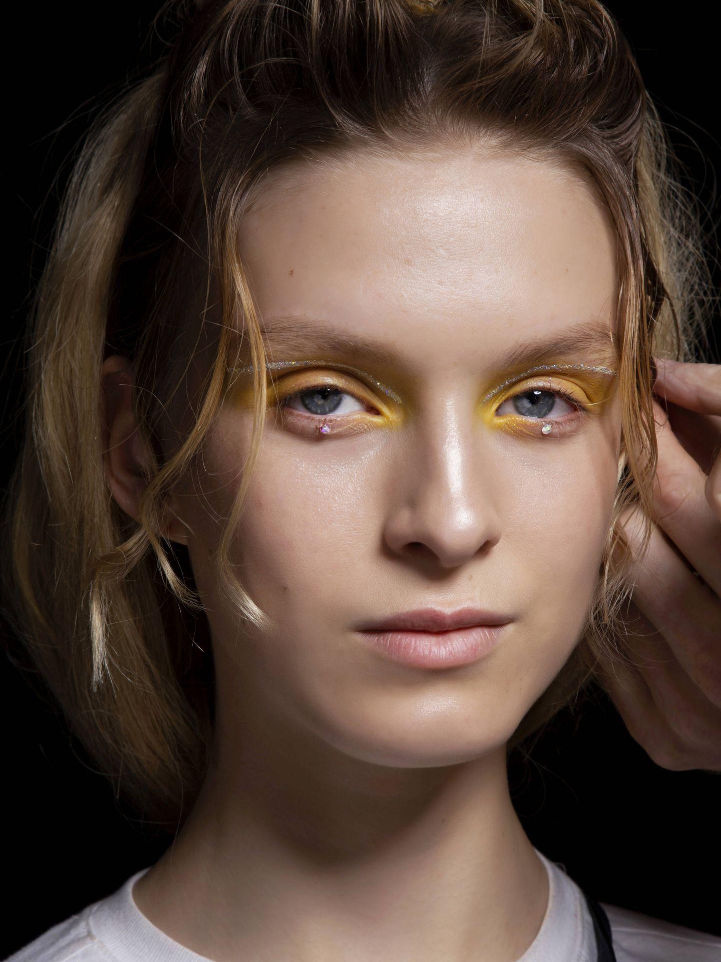 Maquillaje del desfile de Anna Sui. (Imaxtree)