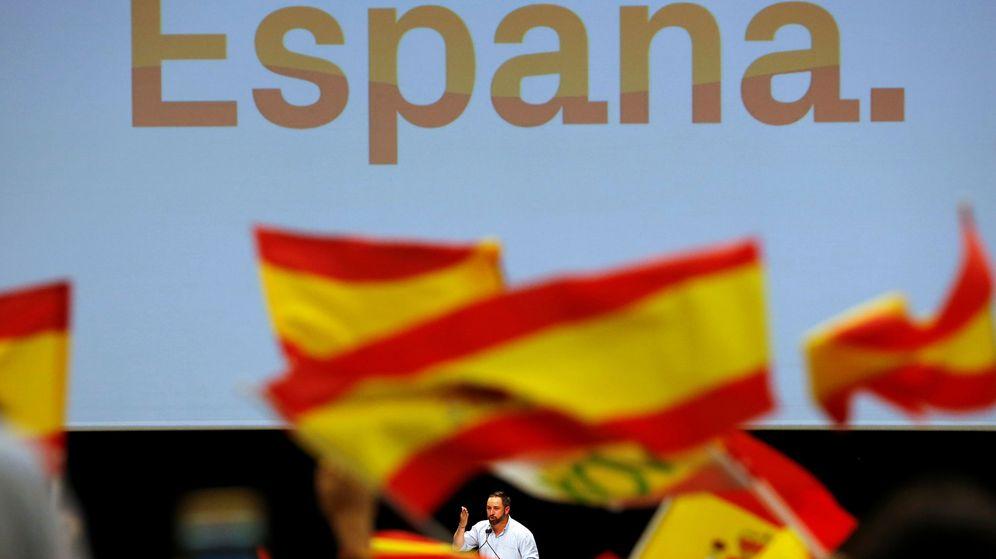 Foto: Santiago Abascal, durante un mitin en Sevilla. (Reuters)