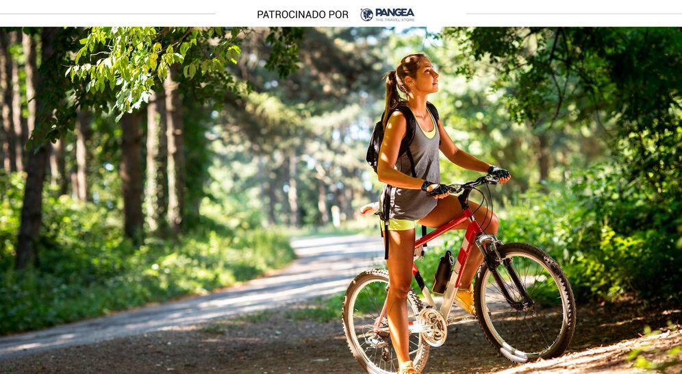 Foto: Una ruta en bicicleta junto al río Pas completa la experiencia (Shutterstock)