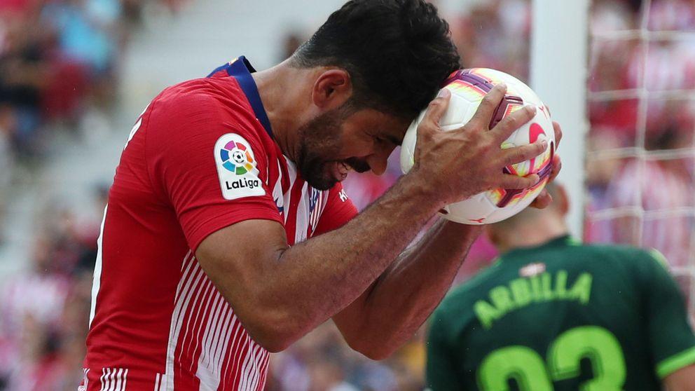El Atlético derrapa: Simeone, angustiado y pitado por su público
