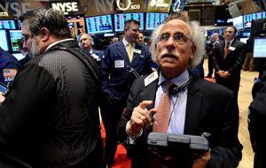 El Dow se aleja de los 16.500 tras los datos del sector servicios