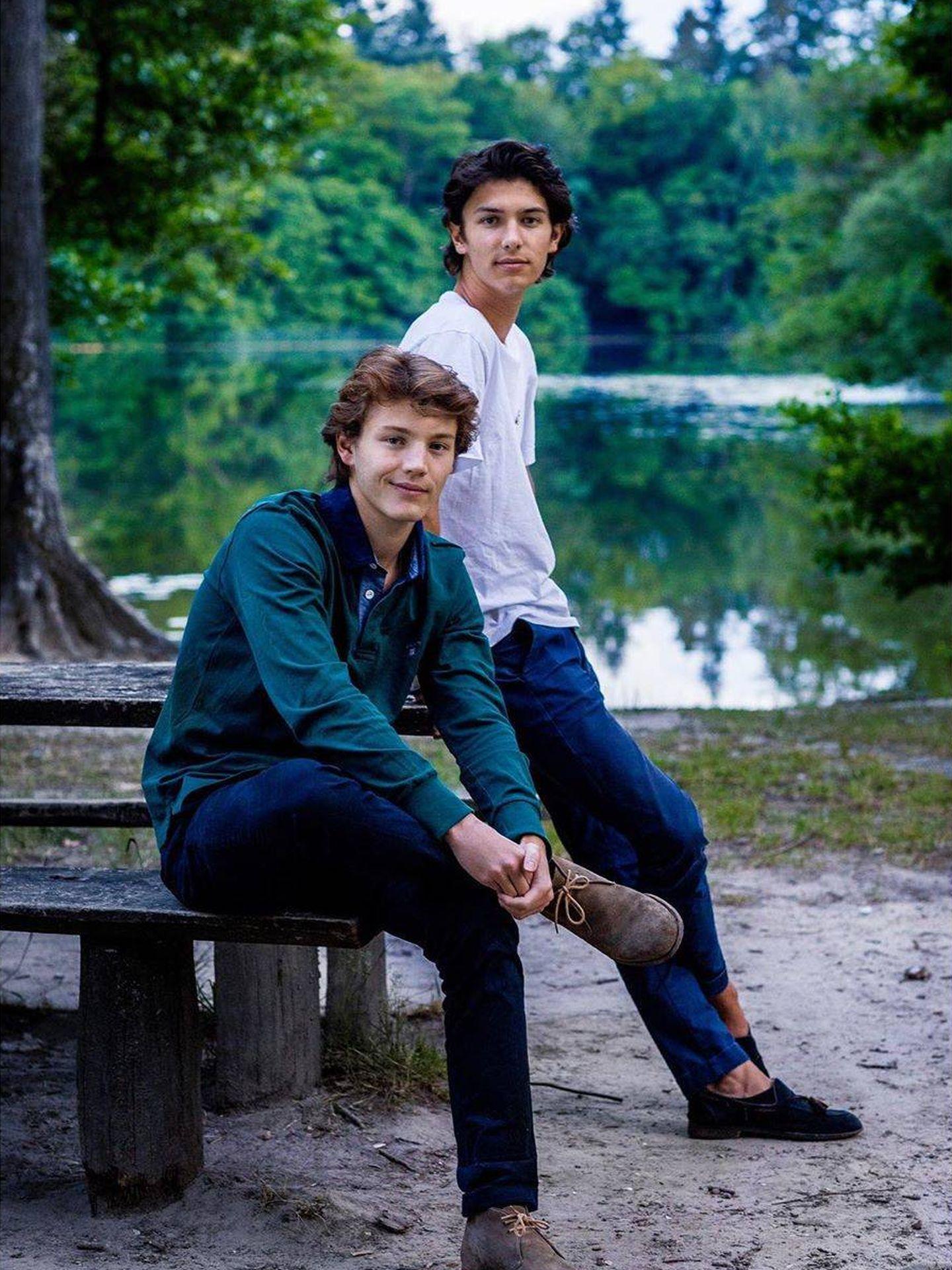 Félix y Nicolás de Dinamarca. (Steen Brogaard / Casa Real)