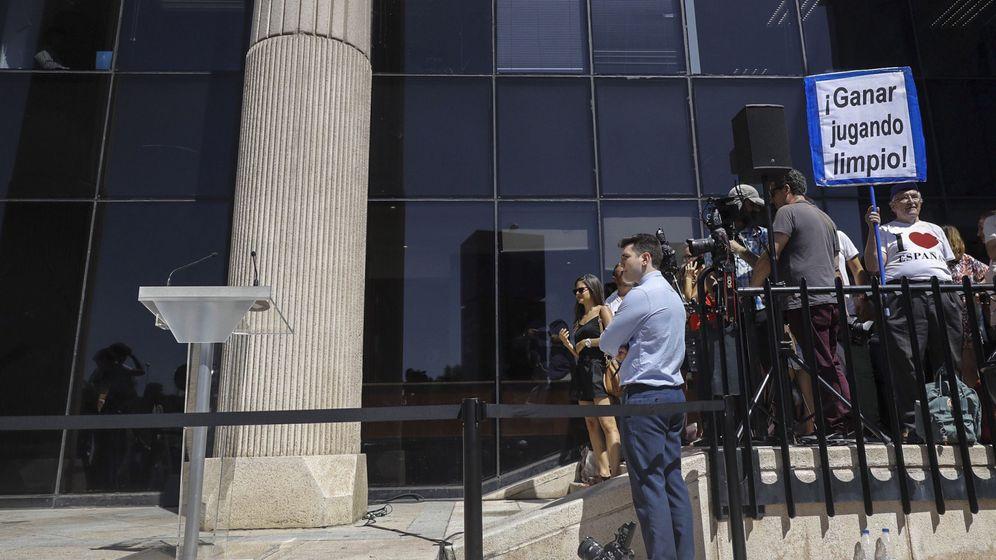 Foto: Cristiano declara este lunes acusado por la Fiscalía de defraudar 14,7 millones. (EFE)