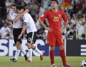 La historia de Alemania vence al fútbol de Portugal