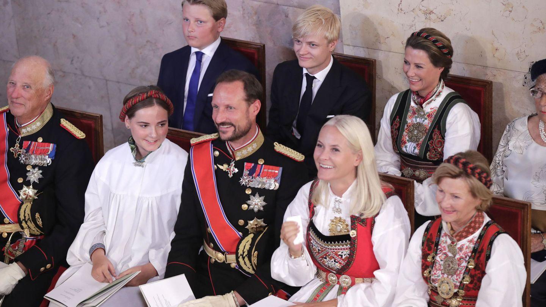 En la confirmación de Ingrid Alexandra. (Reuters)