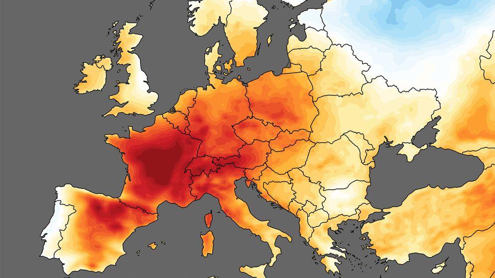 Foto: Nunca antes se habían registrado temperaturas tan altas en el mes de junio (Foto: C3S)