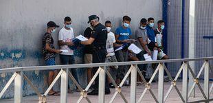 Post de Aluvión de peticiones de asilo en la frontera del Tarajal: solo se tramita el 4%
