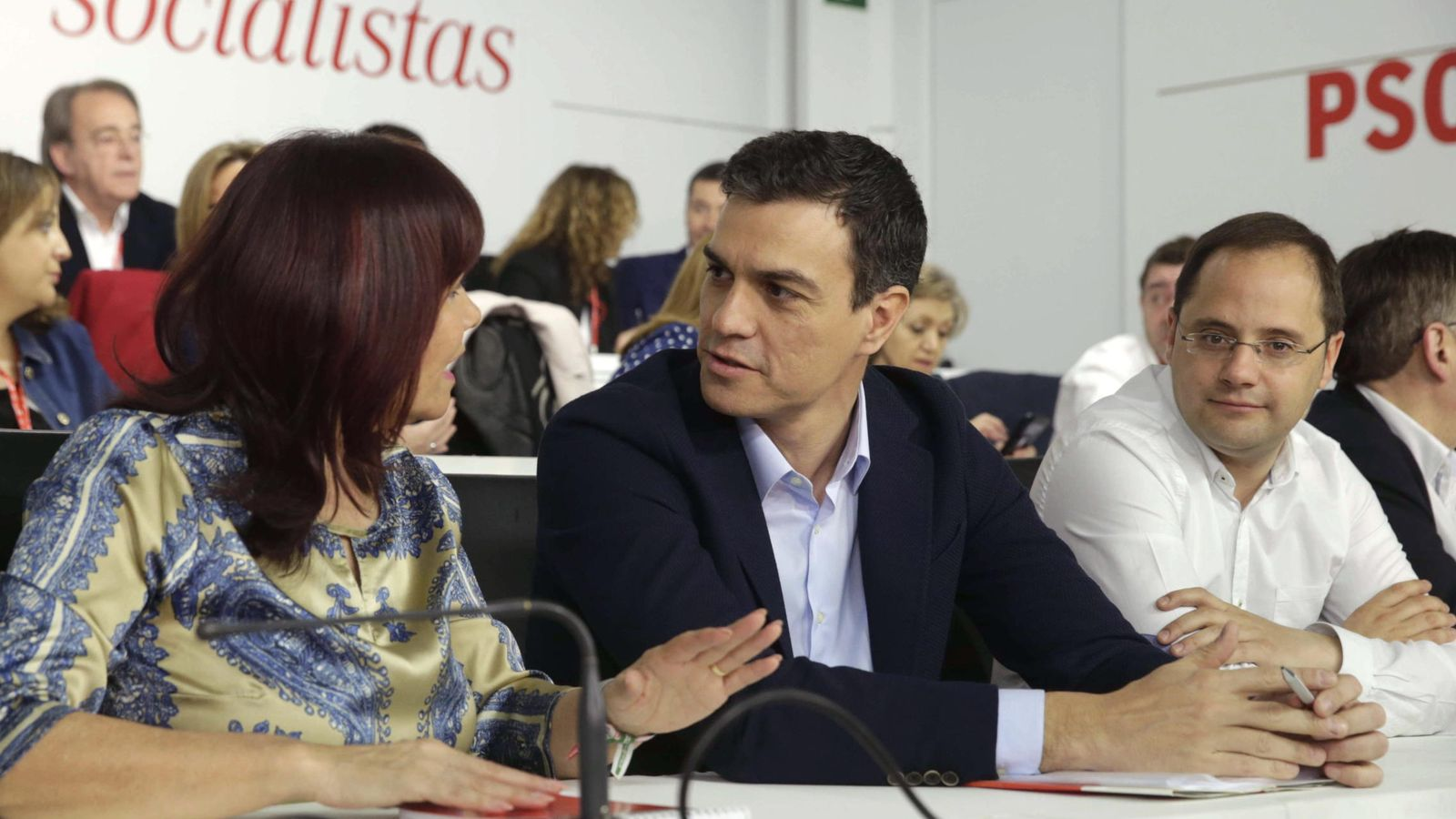 Foto: Pedro Sánchez, en el Comité Federal del PSOE. (Efe)