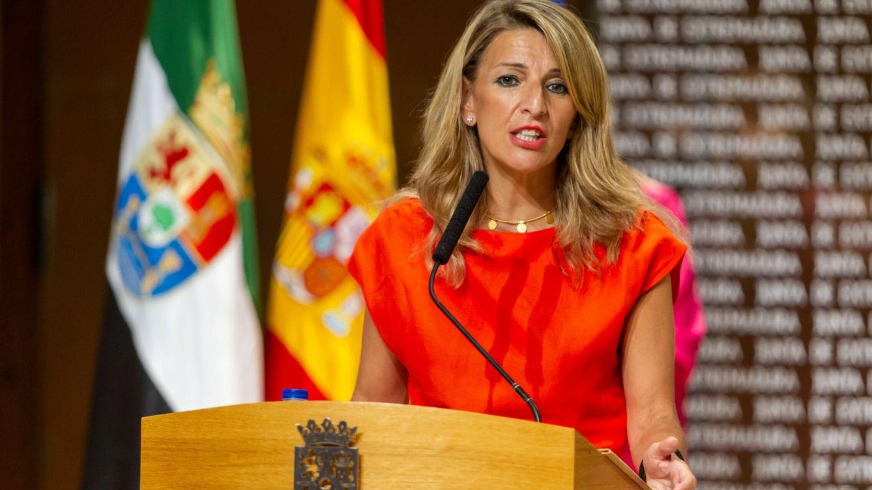 Foto: La vicepresidenta segunda y ministra de Trabajo y Economía Social, Yolanda Díaz. (EFE)
