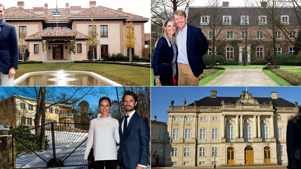 La Haga, Zarzuela.... Así son las residencias de los 'royals' europeos