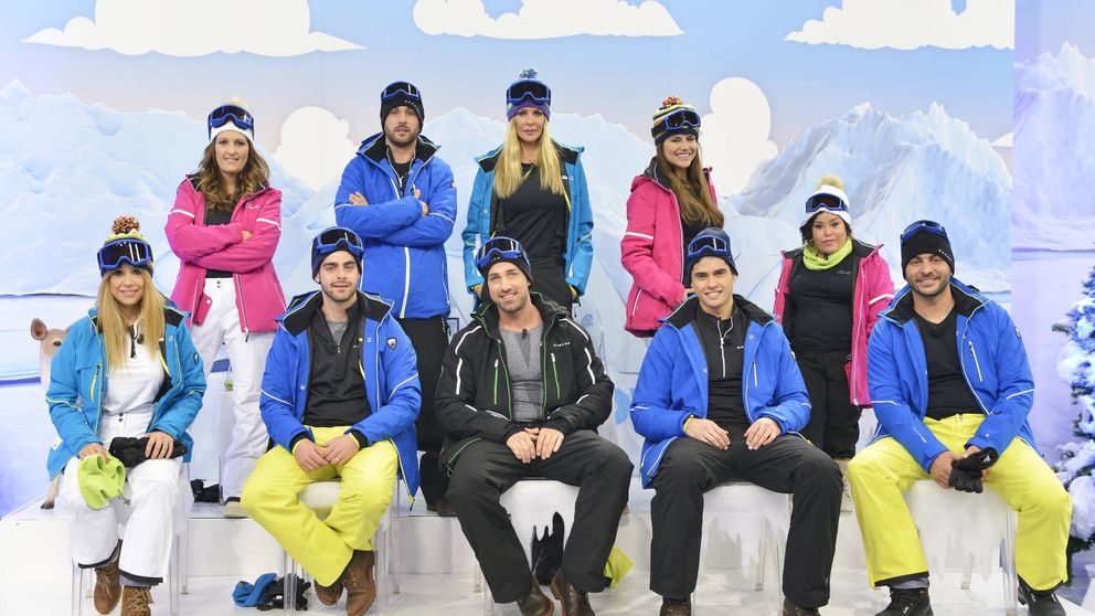 Posados de los concursantes de la 'Sálvame Snow Week', aspirantes a colaborador de 'Sálvame'