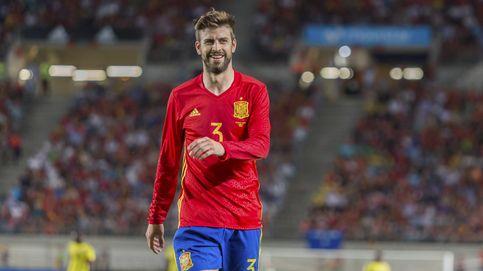 Piqué no se libra de los pitos en Murcia y vuelve a tener en contra a la grada