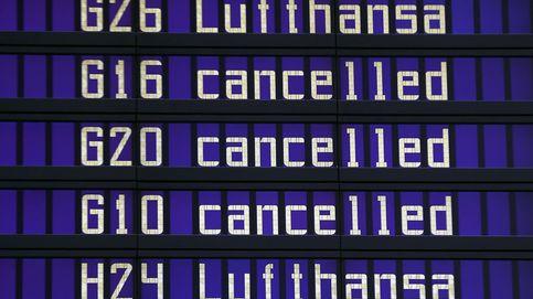 Lufthansa cancela 929 vuelos por una huelga del personal de cabina