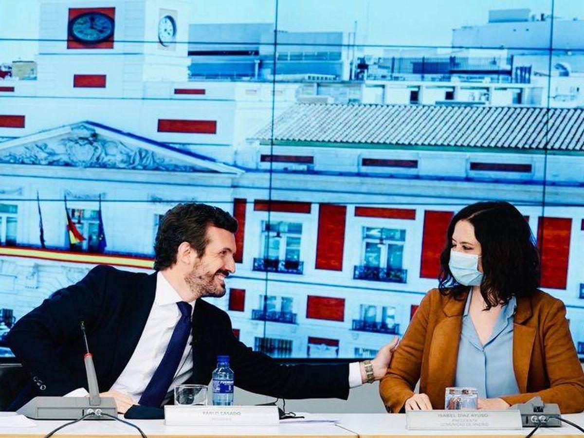 Foto: Pablo Casado e Isabel Díaz Ayuso. (David Mudarra)