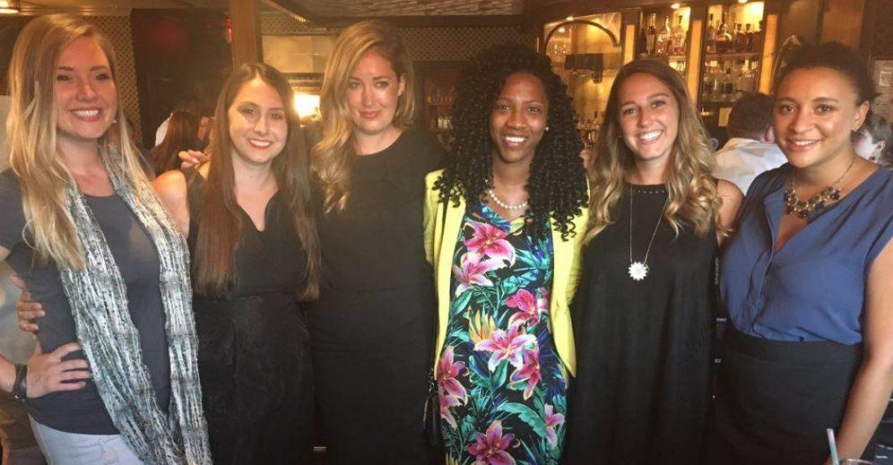 Foto: Las seis chicas citadas. (Twitter)