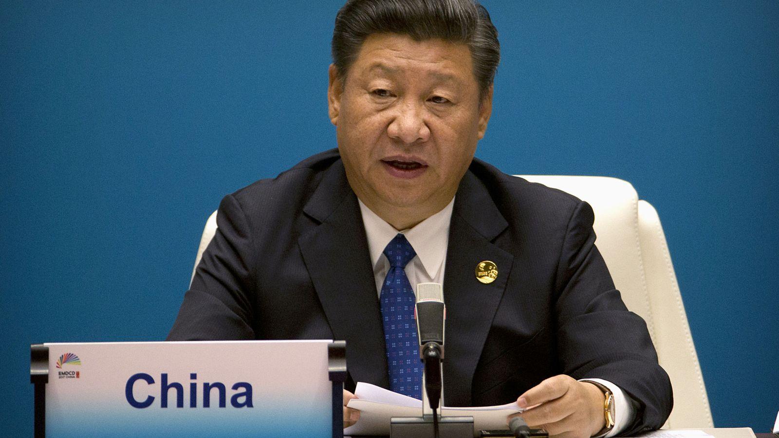 Foto: El presidente de China, Xi Jinping. (Reuters)