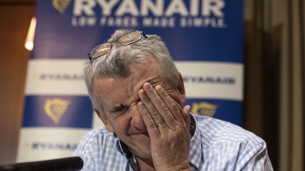 Foto: Rueda de prensa del presidente de Ryanair (EFE)