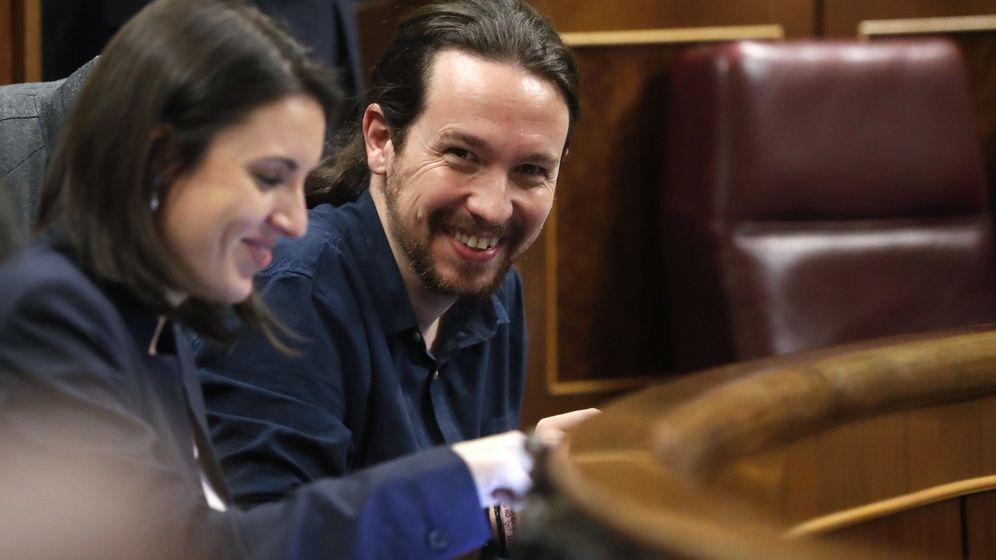 Foto: Irene Montero y Pablo Iglesias en una imagen de archivo. (EFE)