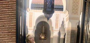 Post de Carmen Lomana, días de vacaciones en Marrakech: al mal tiempo, buen bikini