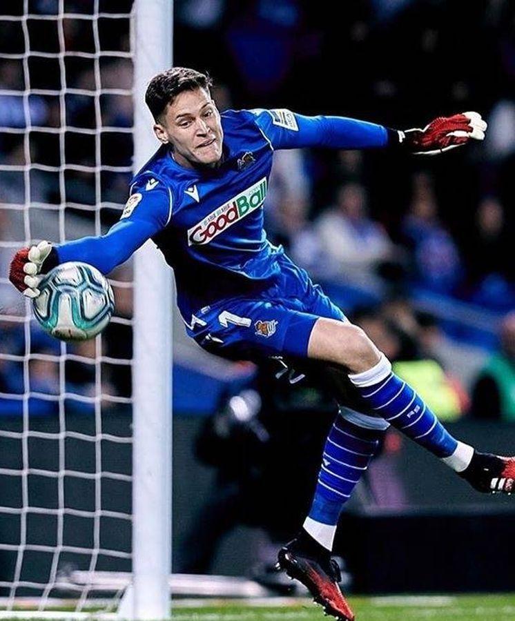Las presiones que Álex Remiro sufrió en el Athletic (y su dulce exilio en  la Real)