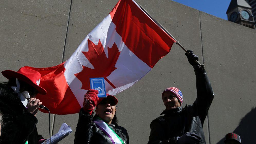 Foto: Los delitos de odio contra los musulmanes se han triplicado en Canadá en los últimos años (Reuters/Chris Helgren)