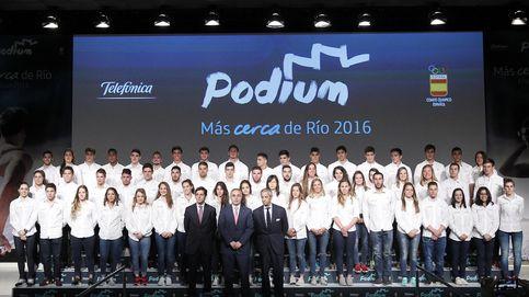 España se sube al 'Pódium' y ya son 80 los deportistas becados por Telefónica