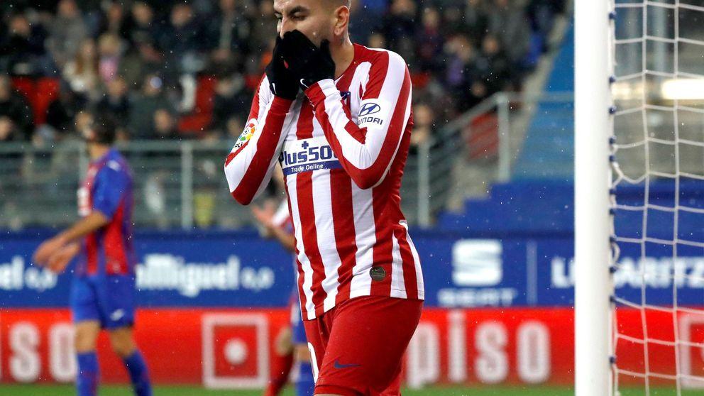 Una derrota del Atlético de Madrid que hace más urgente el fichaje de Cavani