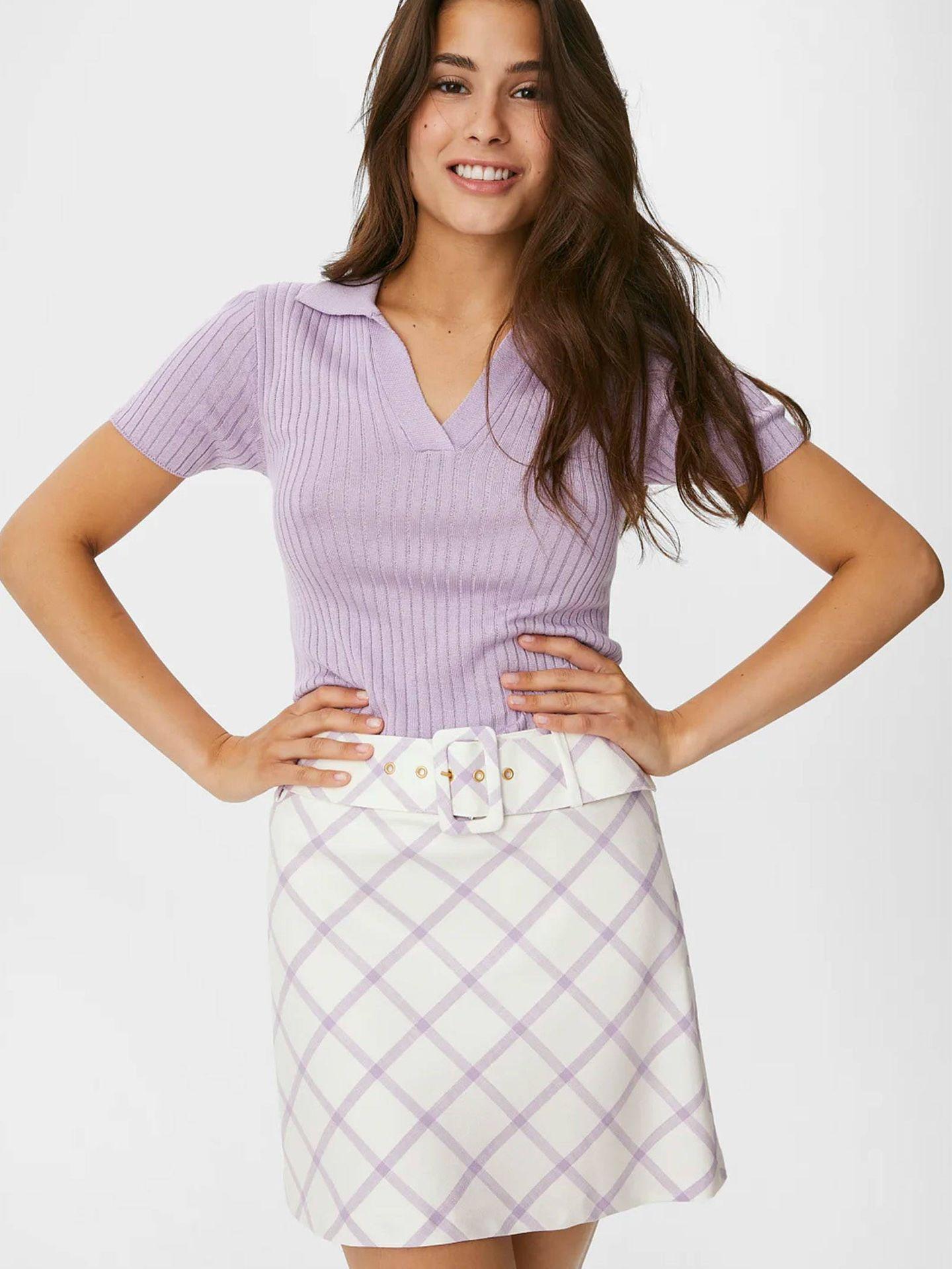 Falda de CyA. (Cortesía)