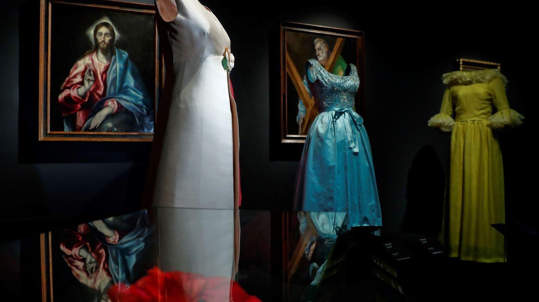 Vista de la exposición 'Balenciaga y la pintura española'. (EFE)