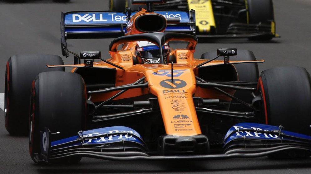 Foto: Carlos Sainz en el GP de Mónaco. (McLaren)
