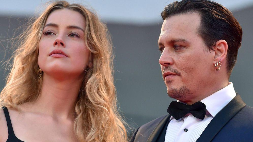 Foto: Depp y Amber Heard en una imagen de 2015.(EFE)