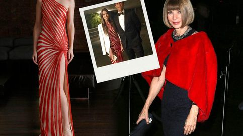 Ana Boyer brilla ante Anna Wintour con un vestido de 5.000 euros
