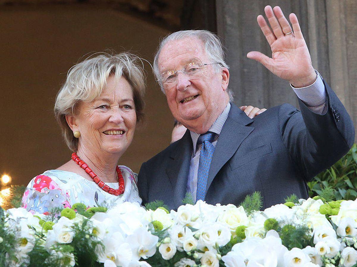 Foto: Alberto II y Paola de Bélgica en una imagen de archivo. (Getty)