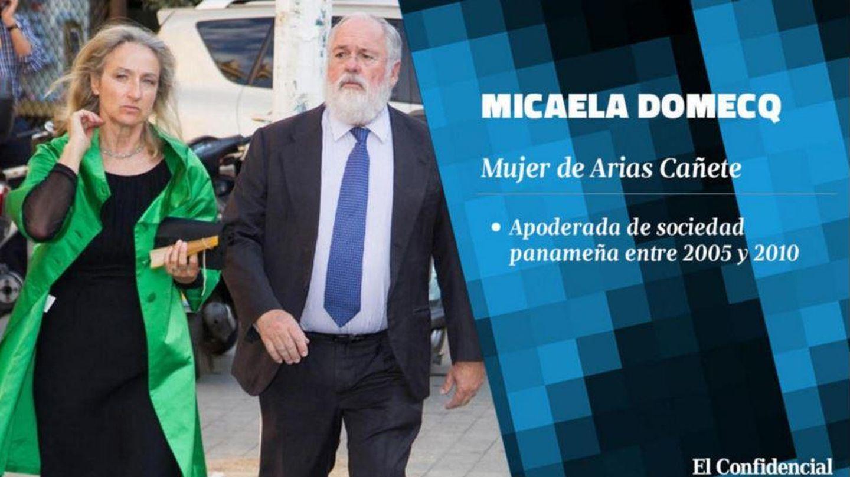 Micaela Domecq y su esposo, el exministro Arias Cañete.