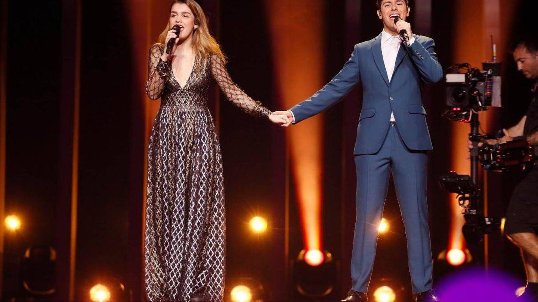 Alfred y Amaia, muy cómplices. (Eurovision.tv)