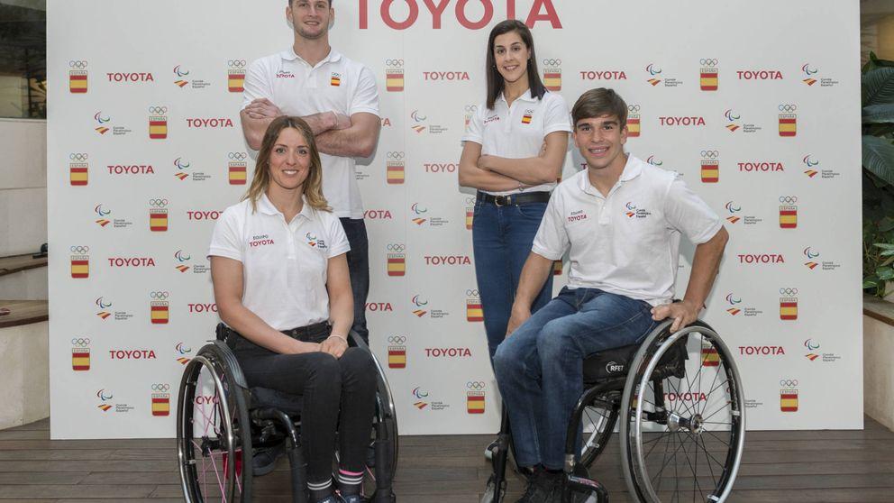 El espíritu de superación en el equipo Toyota España para Tokio 2020