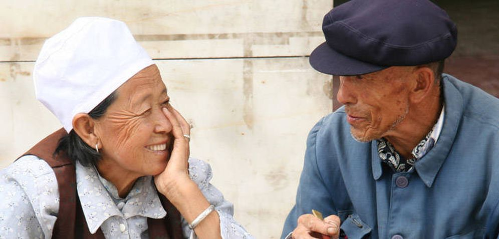 Foto: Bapan, la pequeña aldea china que tiene el secreto de la longevidad