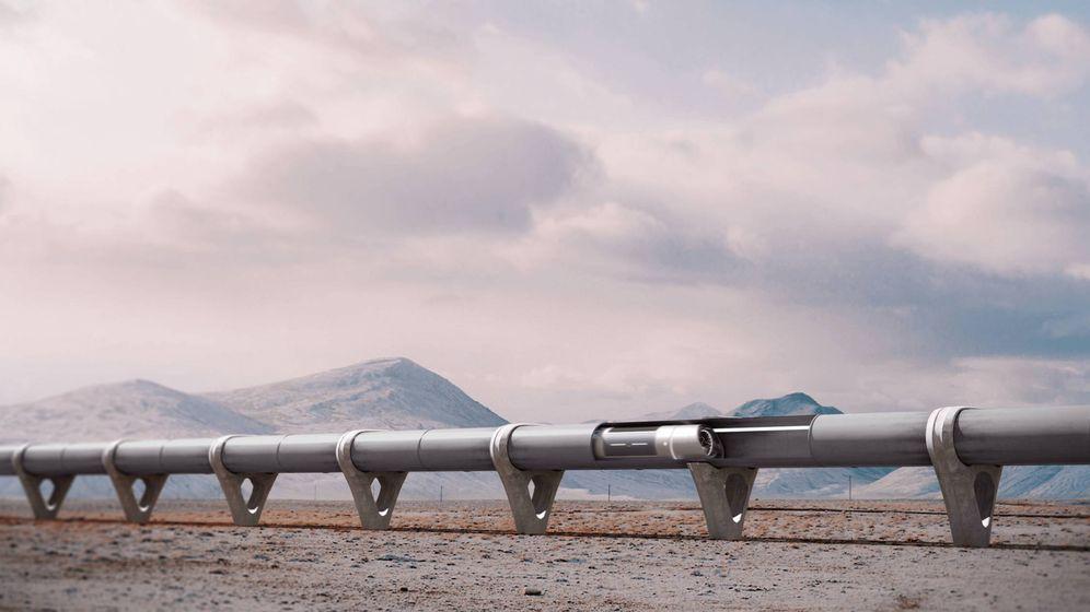 Foto: Render de Hyperloop. (Zeleros)