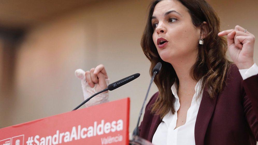 Foto: Sandra Gómez en un acto de campaña. (Efe)