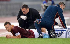 El aullido de la Roma pierde alegría y efectividad sin Totti en el campo
