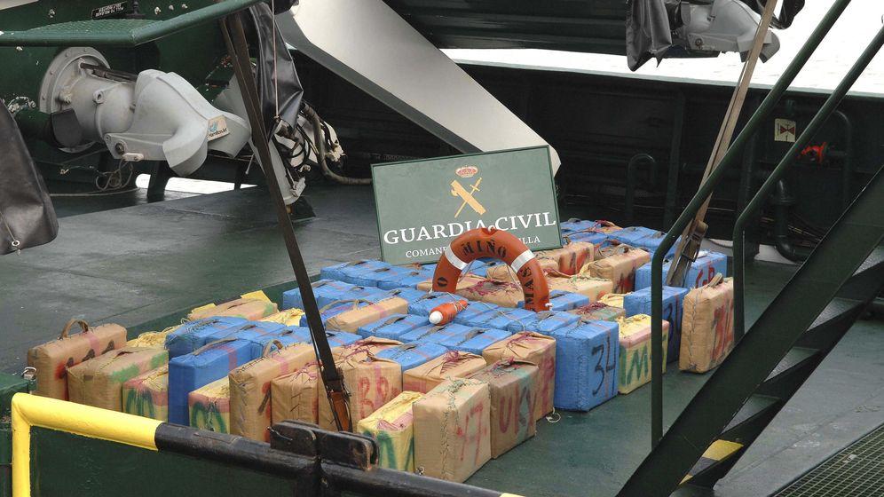 Foto: Más de seis toneladas de hachís incautadas en tres operaciones (EFE/Laureano Valladolid)